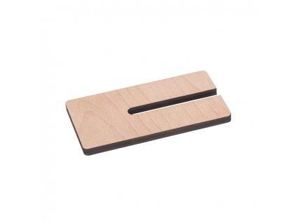 Dřevěný stojánek na mobil