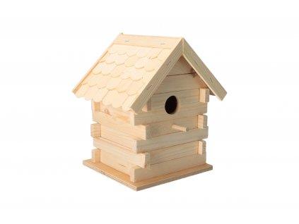 Dřevěný domeček pro sýkorky
