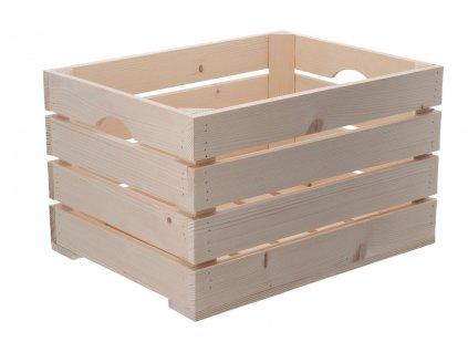 Dřevěná bedýnka 40 x 30 x 24 cm