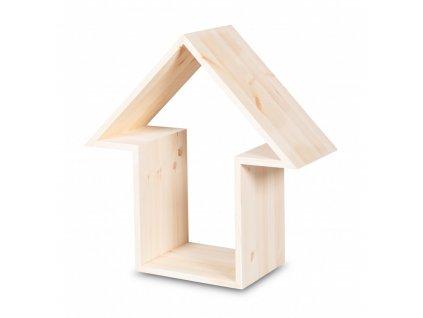 Dřevěná polička - Šipka
