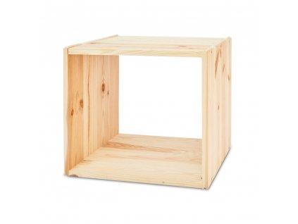 Dřevěná modularní police - 1 ks