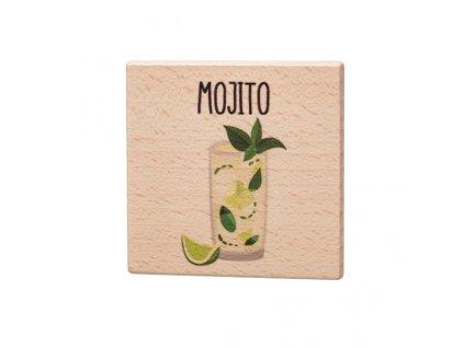 Dřevěný podtácek - Mojito