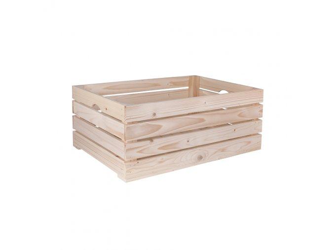 Dřevěná bedýnka 60x39x24 cm