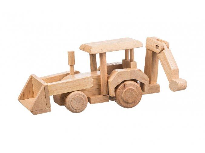 Dřevěný čelní nakladač