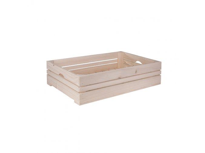 Dřevěná bedýnka 60x39x15 cm