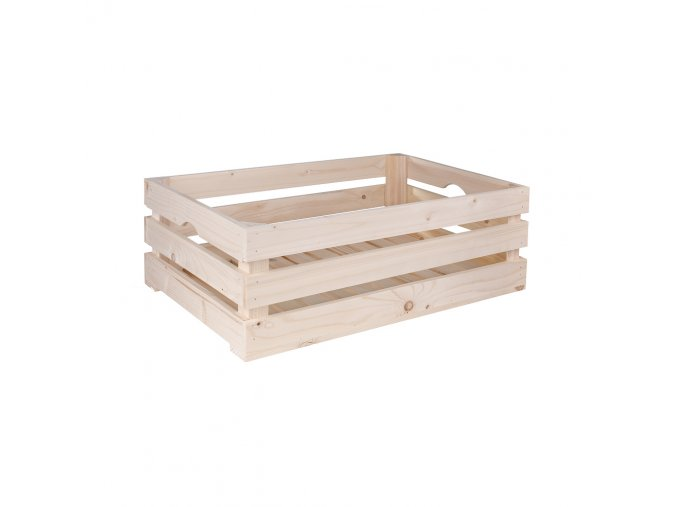 Dřevěná bedýnka 60x39x20 cm