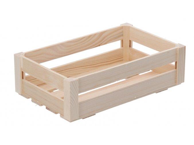 Dřevěná bedýnka střední (snížená)