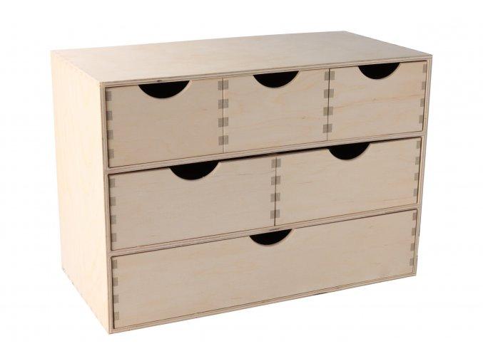 Dřevěný organizér V