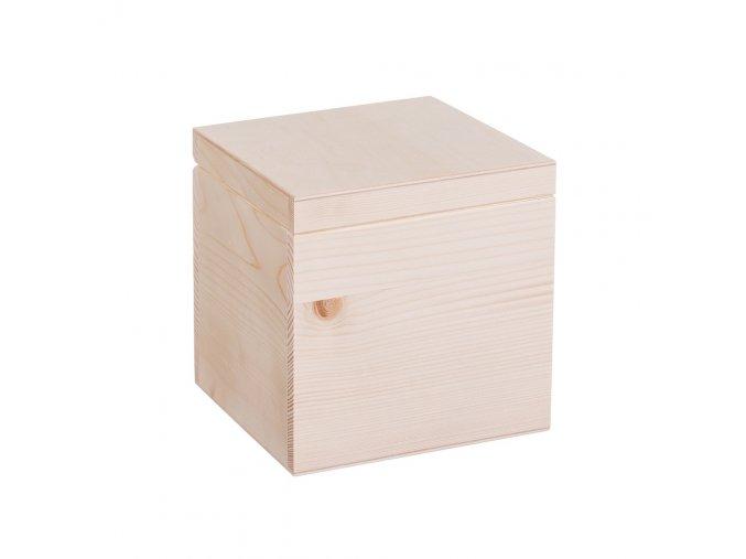 Dřevěná krabička 15.5x16.5x15.5