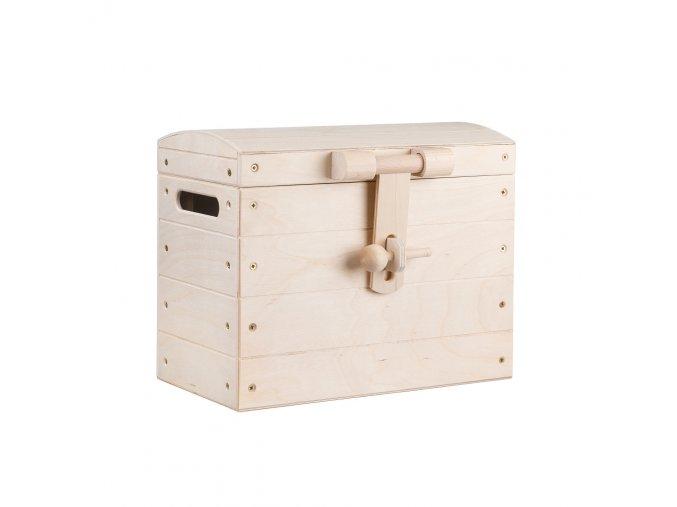 Dřevěná truhla V