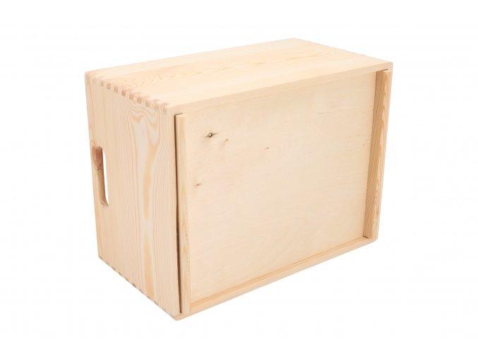 Dřevěný box 40X30X23 CM