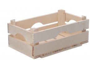 Dřevěná bedýnka 40x26x18 cm