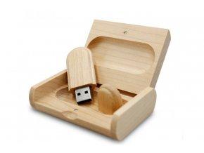 Dřevěný USB disk 16GB