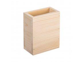 Dřevěný obdélníkový stojan