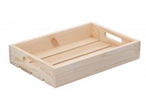 Dřevěná bedýnka 32 x 22 x 6 cm
