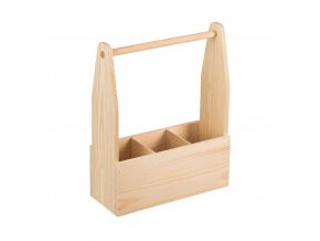 Dřevěný nosič V