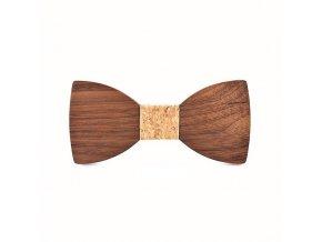 Dřevěný motýlek VI
