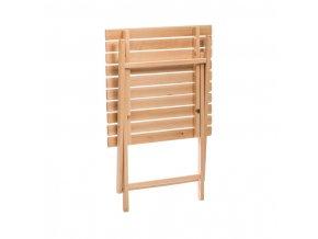 Stůl s židlemi - zahradní set