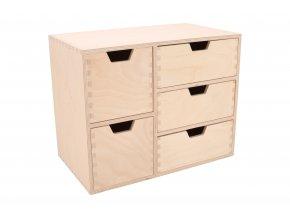 Dřevěný organizér IV