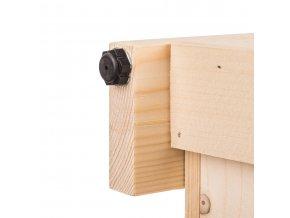 Regál dřevěný r5oz 180 x 74 x 46 cm