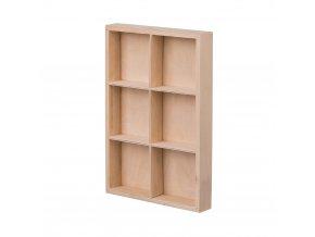 Dřevěný organizér VI