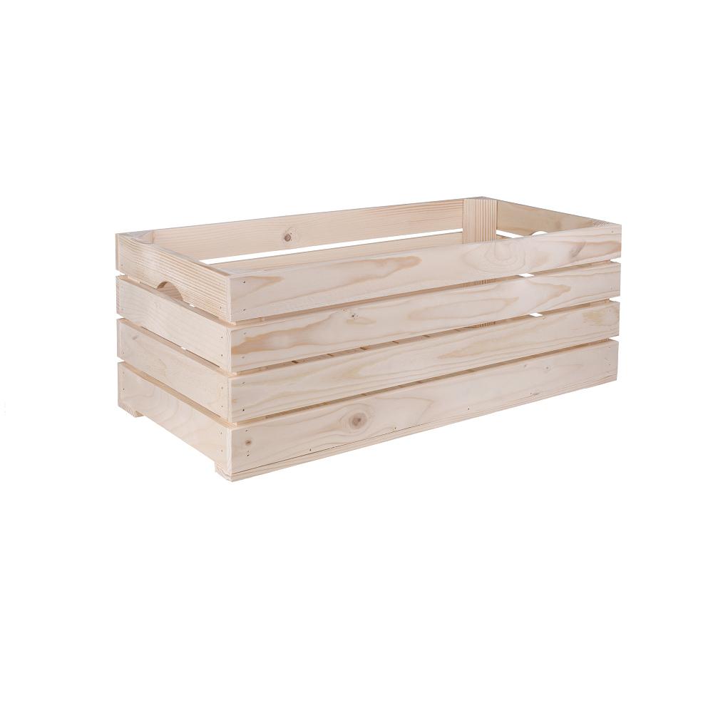 Dřevěná bedýnka 60x30x24 cm