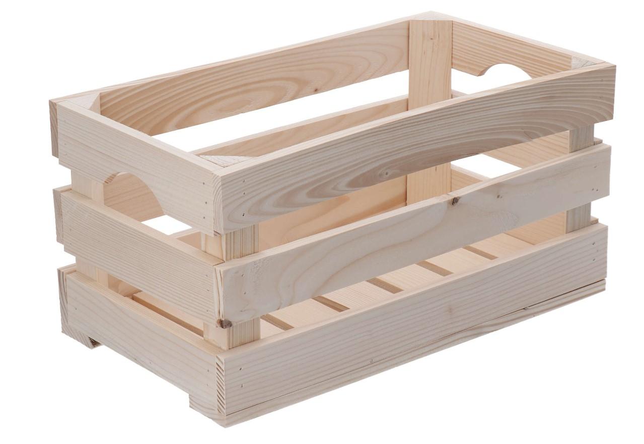 Dřevěná bedýnka 40x22x20 cm