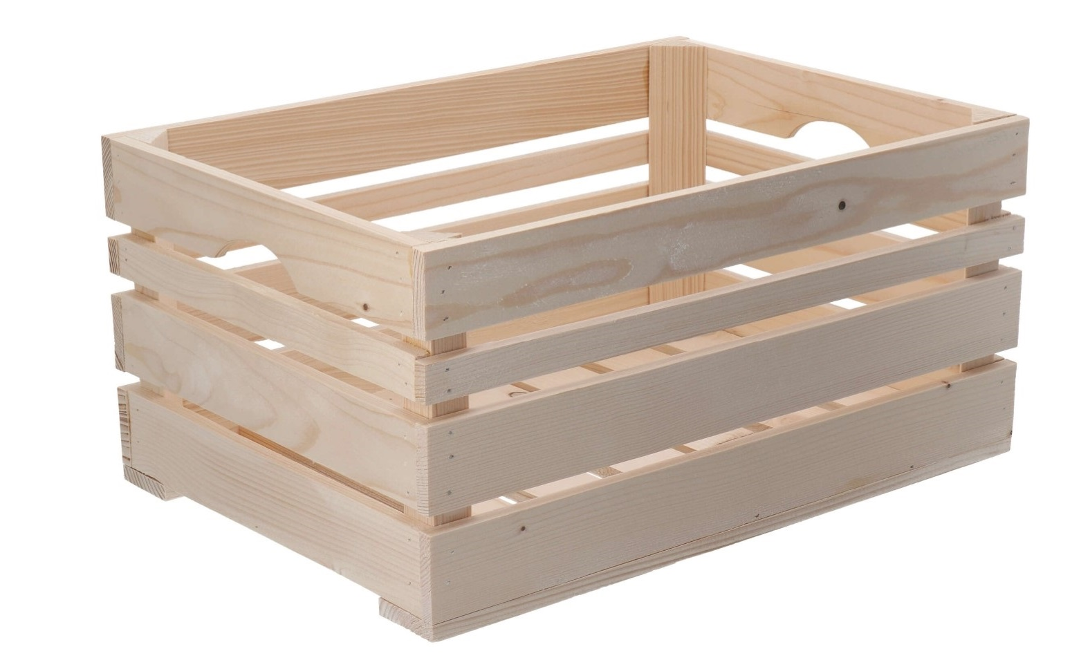 Dřevěná bedýnka 46x32x22 cm