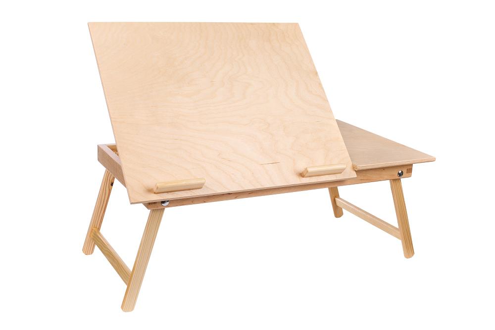 Dřevěný stolek pod notebook 60 x 35 cm
