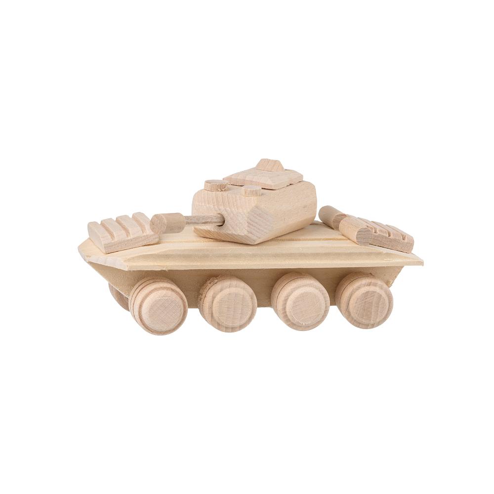 Dřevěný tank