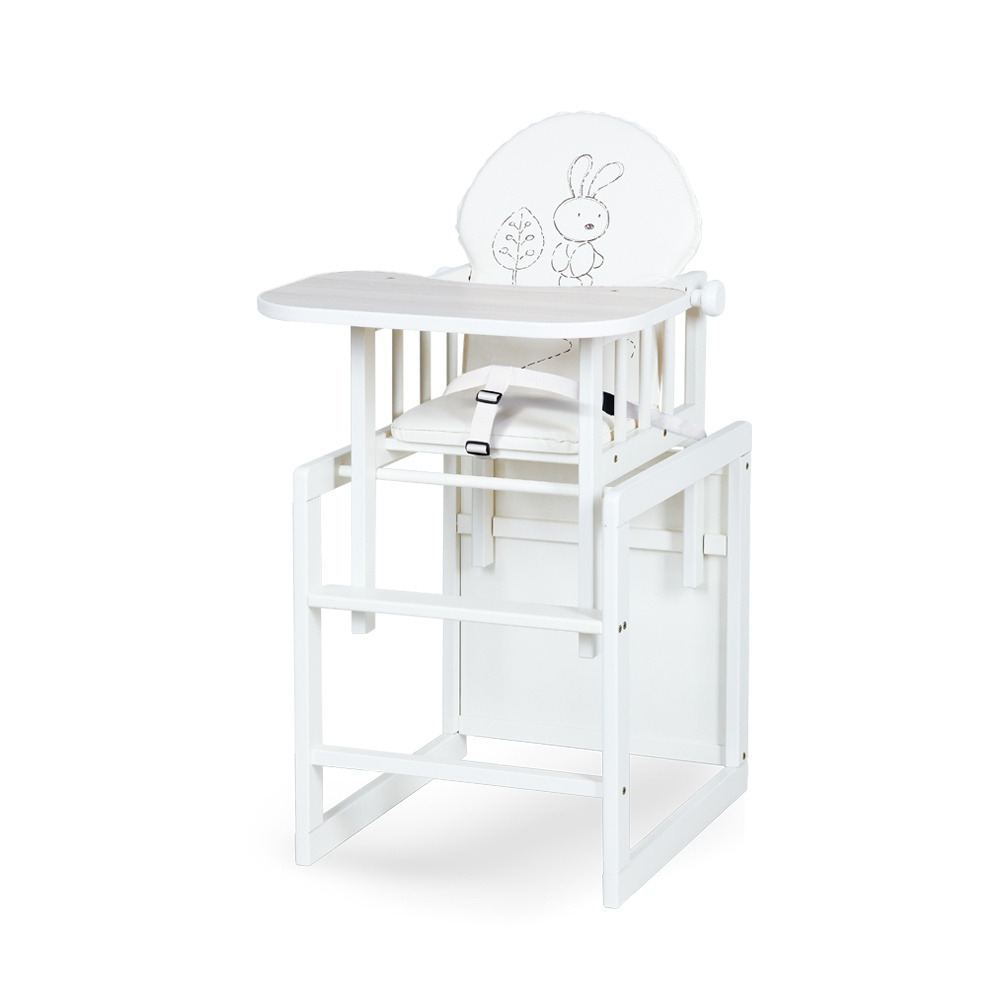 Jídelní židlička zajíček