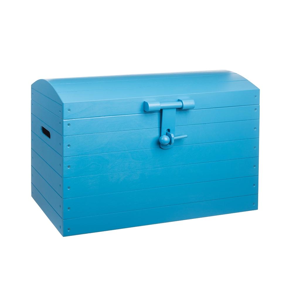 Dřevěná truhla modrá