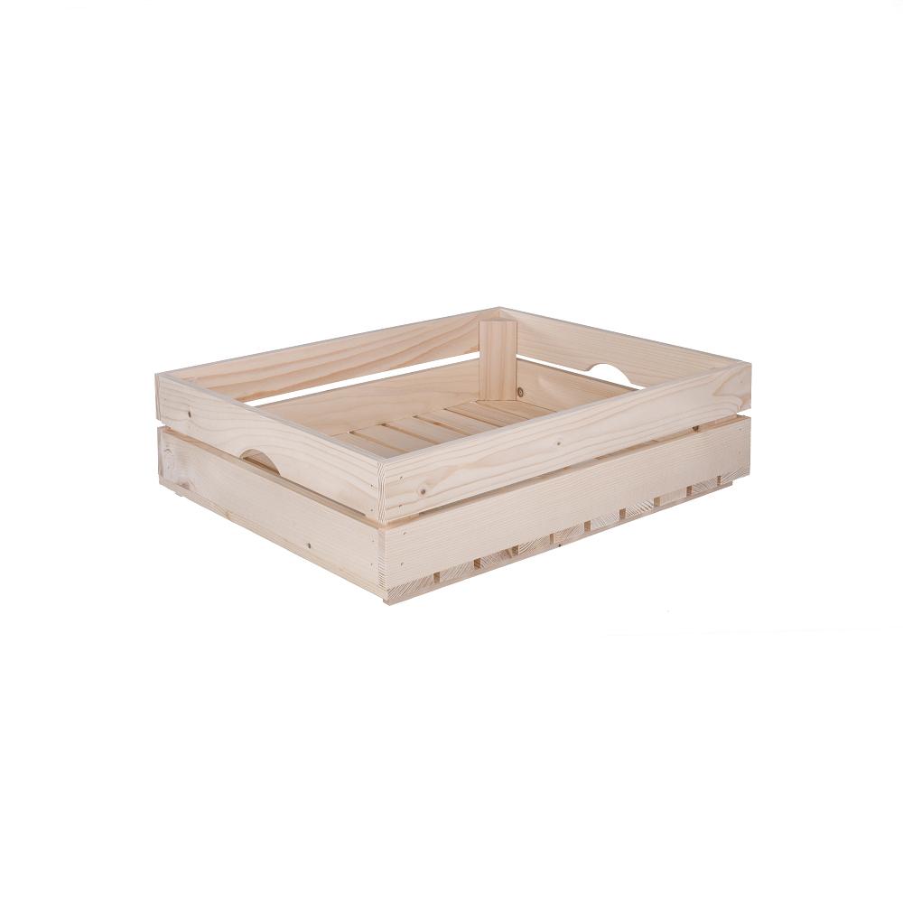 Dřevěná bedýnka 50x39x12 cm