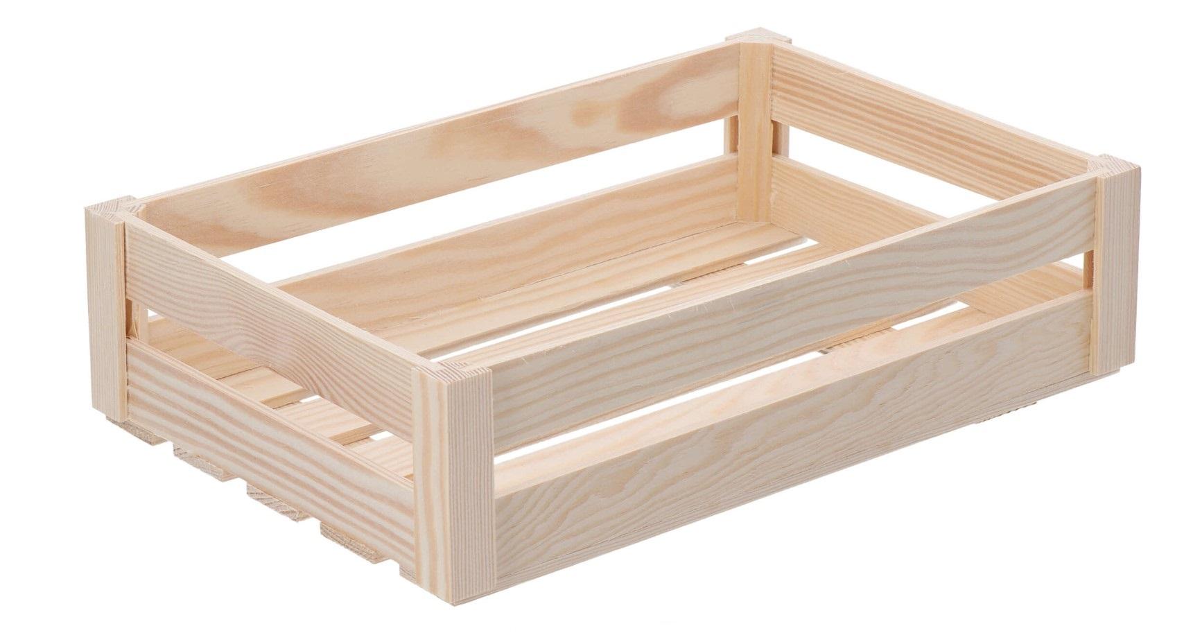 Dřevěná bedýnka - velká (snížená)