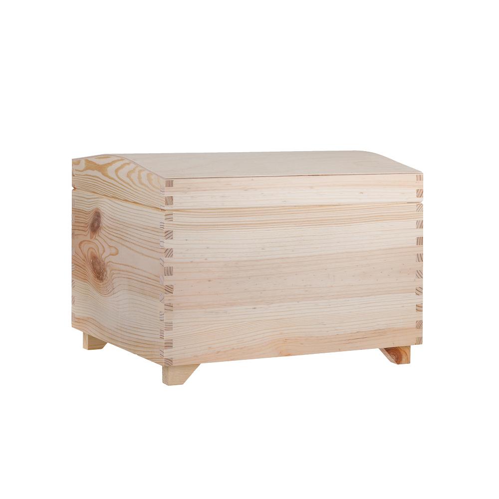 Dřevěná truhla 35x25x25 cm
