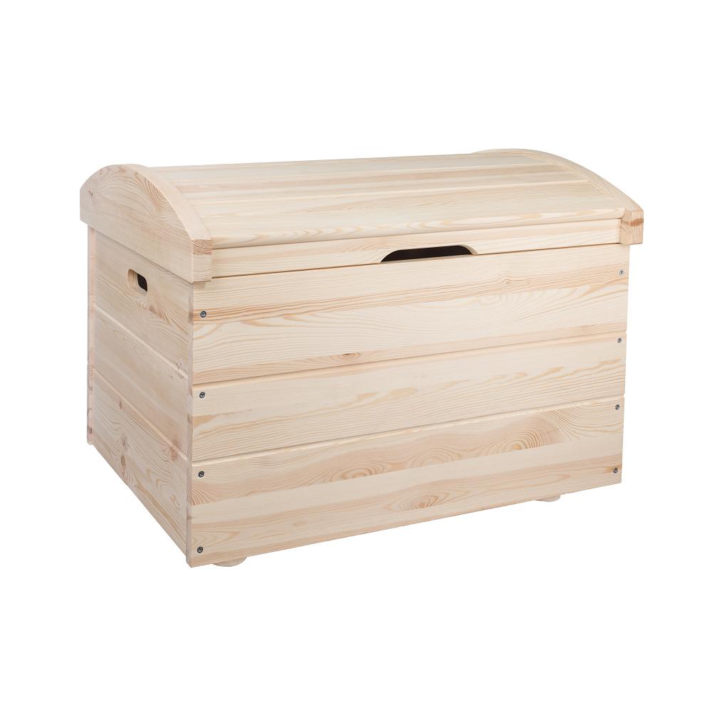 Dřevěná truhla 80x54x54 cm