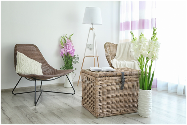 Objavte kúzlo prúteného nábytku a doplnkov