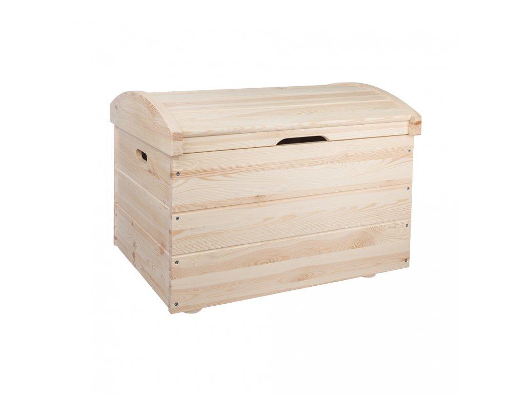 Drevené úložné boxy