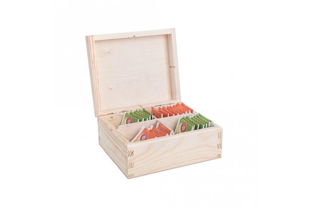 Drevené krabičky na čaj