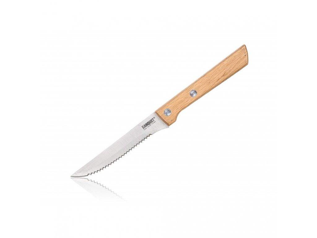 Nerezový nôž na steak BRILLANTE - 10 cm