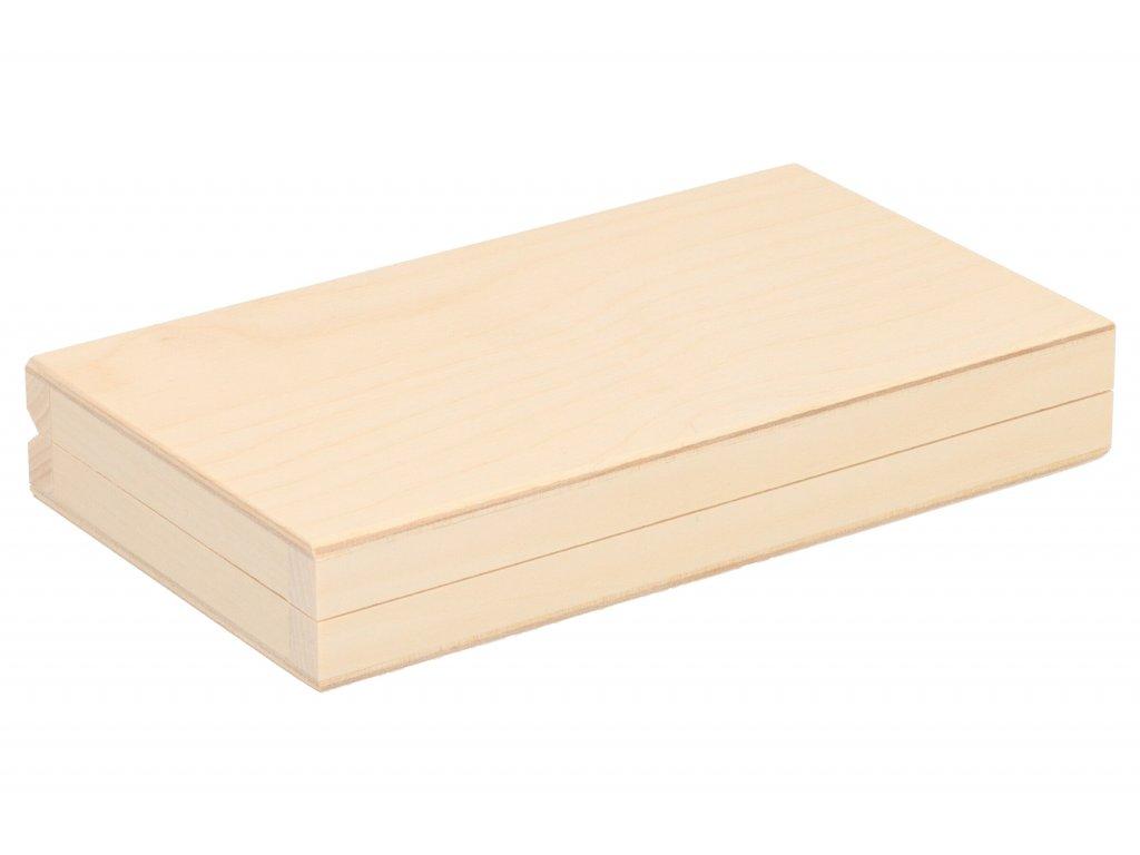 Drevená krabička XII