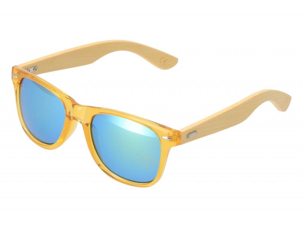 Drevené slnečné okuliare VI