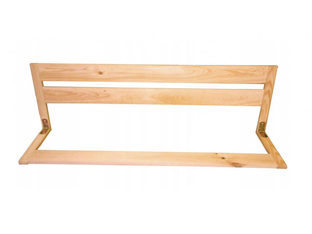 Drevená bezpečnostná zábrana do postele 97 cm