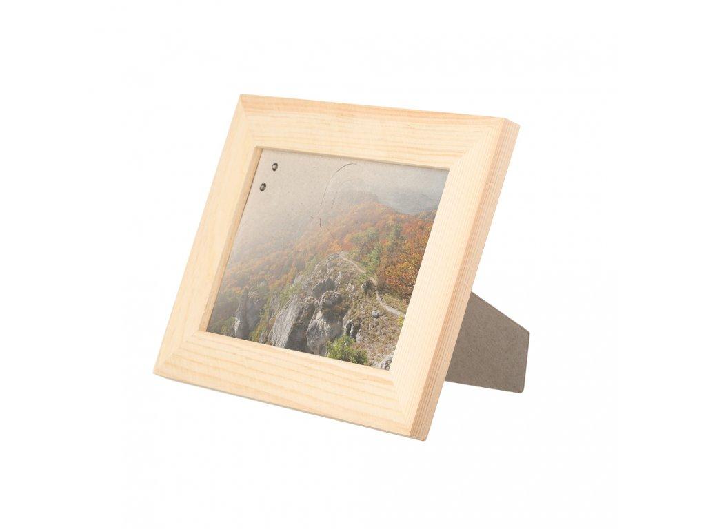 Drevený stolný fotorámik 19 x 14 cm