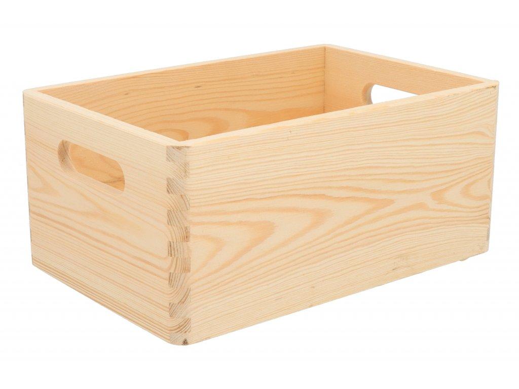 Drevený box 30x20x14 cm