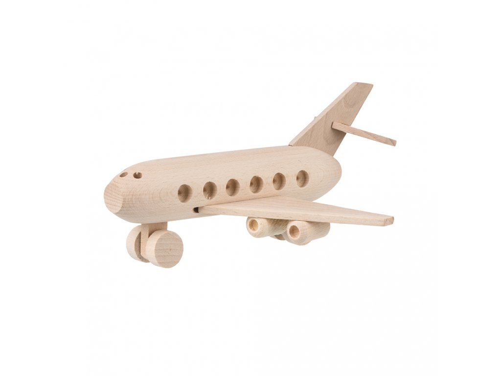 Drevené lietadlo Airbus