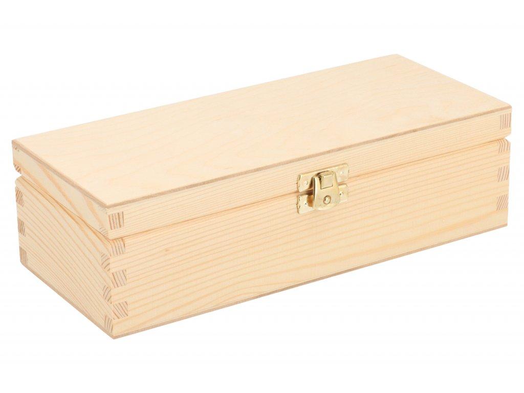 Drevená krabička I