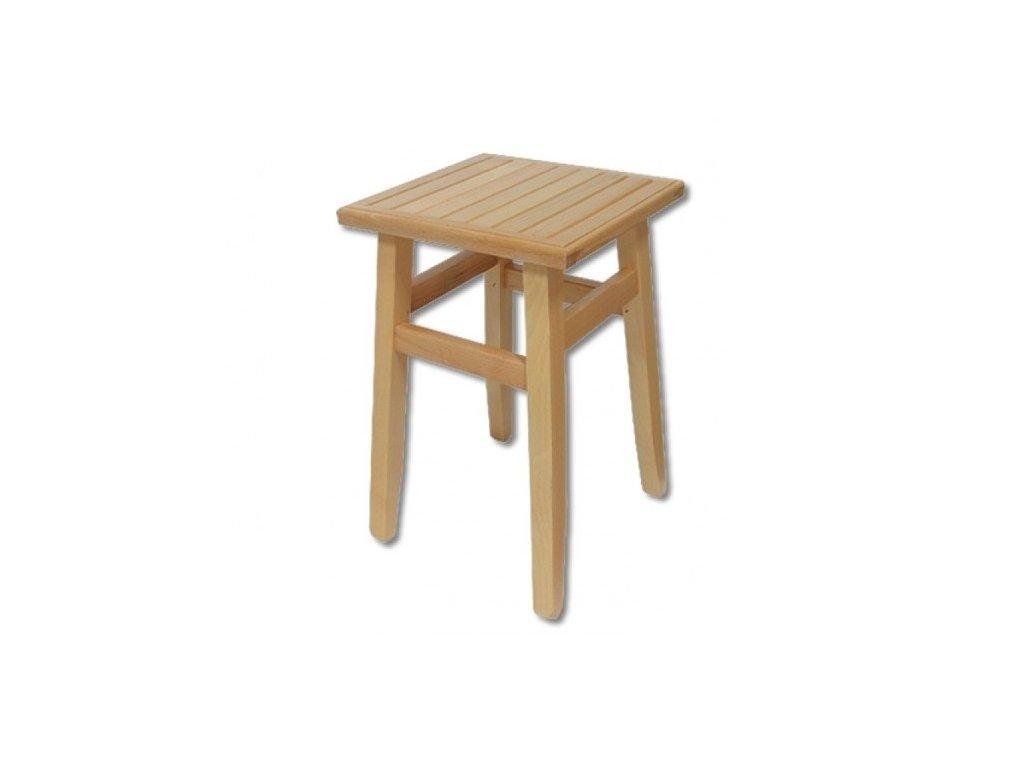 Drevená stolička taburet