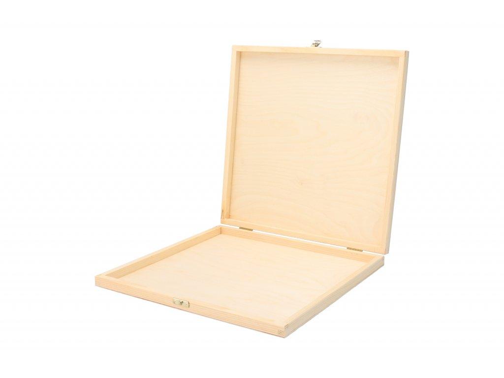 Drevená krabička na dokumenty