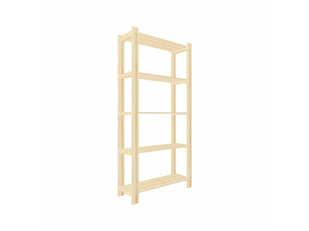 Regál drevený lm5 170 x 80 x 30 cm